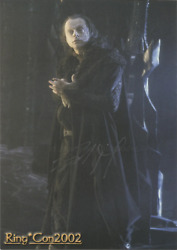 Brad Dourif As Wormtongue - Lord Of The Rings 15cm X 21cm Genuine Autograph