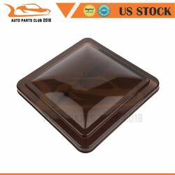 Smoked 14 X 14 Replacement Roof Vent Cover For Camper Rv Trailer Ventline