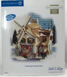 Dept 56 Snow Village Series The Dutchmanand039s Pancake House Brand New