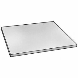 Zoro Select 1nlh2 Clear Polycarbonate Sheet Stock 96 L X 48 W X 0.500 Thick