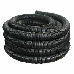 Advanced Drainage Systems 04510100 4 X 100 Ft. Corrugated Drainage Pipe