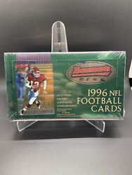 1996 Bowmanandrsquos Best Nfl Football Factory Sealed Box Ray Lewis Atomic Refractor Rc