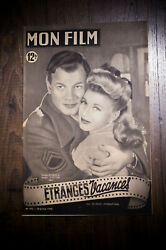Iand039ll Be Seing You 1949 Original First Post-war Release French Program