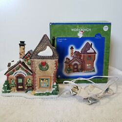 2002 Santaand039s Workbench Crumband039s Cake Shoppe Towne Collection Christmas Village