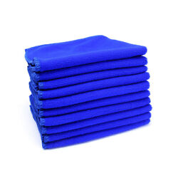 10x Microfiber Washcloth Cleaning Care Towels Soft Cloths Washing Car Accessory