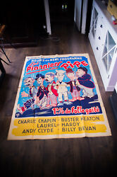 Pioneers Of Laughter 4x6 Ft French Grande Movie Poster Original 1959 Used