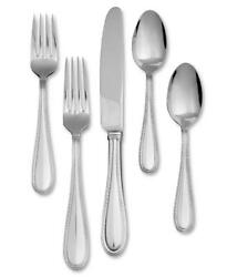 Vera Wang Wedgwood Vera Lace 18/10 Stainless Steel 5 Piece Place Setting