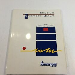 Harvestore Systems Structure Operator's Manual 262490-000 93052 Special Edition