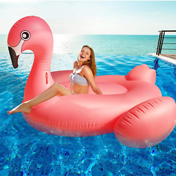 Inflatable Flamingo Bird Pool Beach Party Swimming Floating for Kids Adults