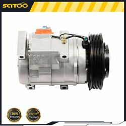 A/c Compressor And Cluth Co 10736c For 2005 2006 2007 2008 Honda Pilot 3.5l