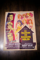 A House Is Not A Home 24 X 32 French Moyenne Fold Movie Poster Original 1964