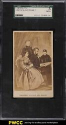 1870's Cdv Abraham Lincoln And Family Sgc Auth