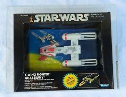 Vintage Star Wars Die Cast Y-wing Fighter Canadian Afa 80+ 85/85/80 Ultra Rare