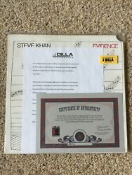 J Dilla Lp Steve Khan - Evidence Lp From J Dillaand039s Personal Record Collection