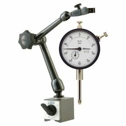 Noga Mg61003 Magnetic Base And Mitutoyo 1 Dial Indicator Set