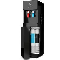 Self-cleaning Touchless Bottle-less Water Cooler Dispenser With Hot/cold Water,