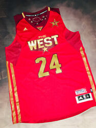 100 Authentic Adidas 2011 Nba All Star Game Kobe Bryant Jersey Sz Xl Lakers