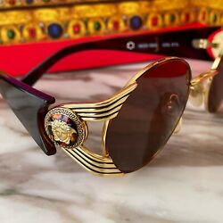 Gianni Versace Sunglasses S65 Col 31l Style Worn By Many Celebrity