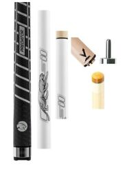 Predator Sport 2 Ice W/ Wrap Playing Cue Vantage 12.9mm Shaft Jt. Cap And Case
