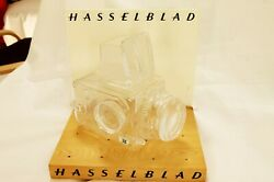 Hasselblad 500c/m Crystal Camera By Christer Sjogren With Sticker