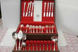 Oneida Silversmiths Community Stainless Flatware For 16 People. Anti-tarnished.