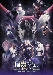 Fate/grand Order The Stage Crown Time Temple Solomon New Blu-ray Limited Edition