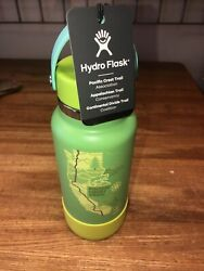 Hydro Flask National Park Oregon Pacific Crest Trail Limited Edition Neon Green