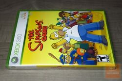The Simpsons Game Xbox 360 2007 Factory Sealed - Rare - Ex