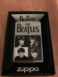 Collectible Beatles Zippo Lighter. 2012 Apple Corps Limited. Never Used.