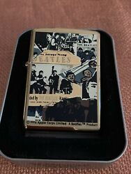 Collectible Beatles Zippo. 1996 Apple Corps Limited. Never Used.