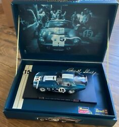 Diecast 1965 Shelby Cobra Daytona Coupe Sebring And03965 Blue - Limited Edition 132