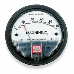 Dwyer Instruments 2050 Dwyer Magnehelic Pressure Gauge,0 To 50 In H2o