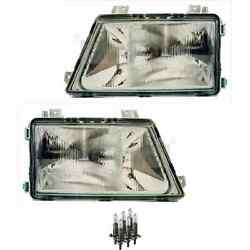 Headlight Set Left And Right H1/h1/h1 For Mercedes Sprinter 2-t Incl. Lamps