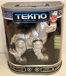 New Tekno The Robotic Puppy Dog Voice Activated Electronic Robot Pet Sealed