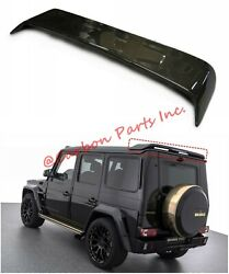 W463 Carbon Rear Spoiler With Stop Signal Brabus Mercedes-benz Style G-class