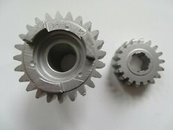7126 - Pair Of Standard Ratio Norton 4th Gears For Upright And Laydown Gearbox