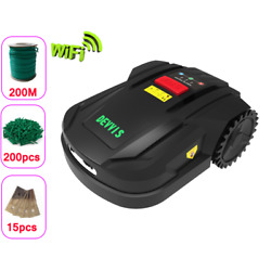 Robotic Lawn Mower 7th Generation With 4.4ah Battery, Wifi, Schedule