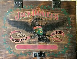 Jack Daniels Squire Collectable Rare American Eagle Collectors Crate 50's-60's
