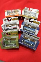 M2 Machines Squarebody Syndicate A Set Of Six With Sleeve