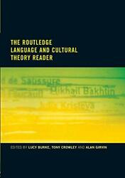 Routledge Language And Cultural Theory Reader - Burke, Lucy, Routledge, Quality