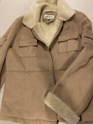 Womenand039s Orvis Faux Suede Polyestersherpa Type Lining Size Xl