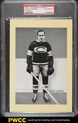 1934 Beehive Group I Photos Hockey Howie Morenz Psa Auth