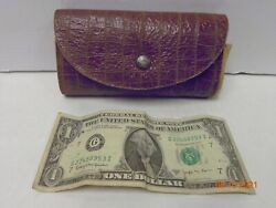 Vintage Fly Fishing Fly Wallet