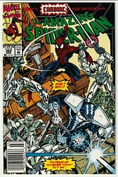 Amazing Spider-man 360 Newsstand 1st Appearance Of Carnage Vf/vf+ White Pages