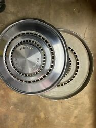 2 Vintage Ford Torino Wheel Covers Hubcaps 15 1973-1976 707/708