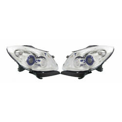 For Buick Enclave Headlight 2008 09 10 11 2012 Pair Hid Type W/ Ballast