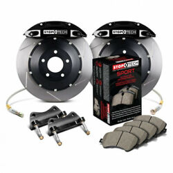Stoptech For Nissan 300zx 1989-1996 Brake Kit Front W/black St-40 Caliper 332x32