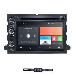 7 Android9.0 Car Radio Navigation Stereo Dvd Gps For Ford F150 2005-2008+camera