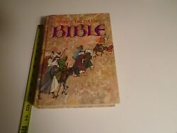 The Childrens Bible Book Vintage Golden Press 1976 Hardcover Illustrated Stories