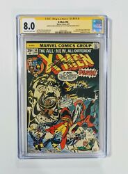 🔥 X-men 94 Cgc Ss 8.0 Marvel,1975 1st New Team - Signed By Claremont, Mcleod